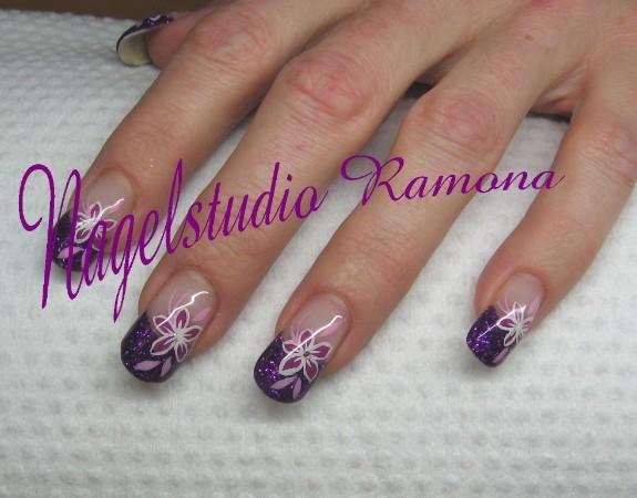 Acrylnagels glitter voorbeelden